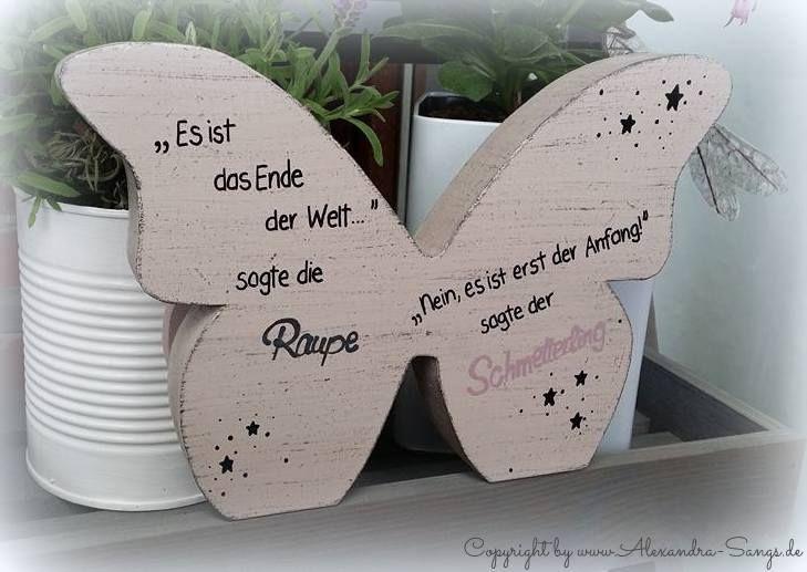 Schmetterling by Alexandra Sangs - Holzarbeiten by Alexandra Sangs http://www.alexandra-sangs.de