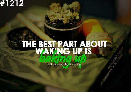 #Wake'N'Bake:)