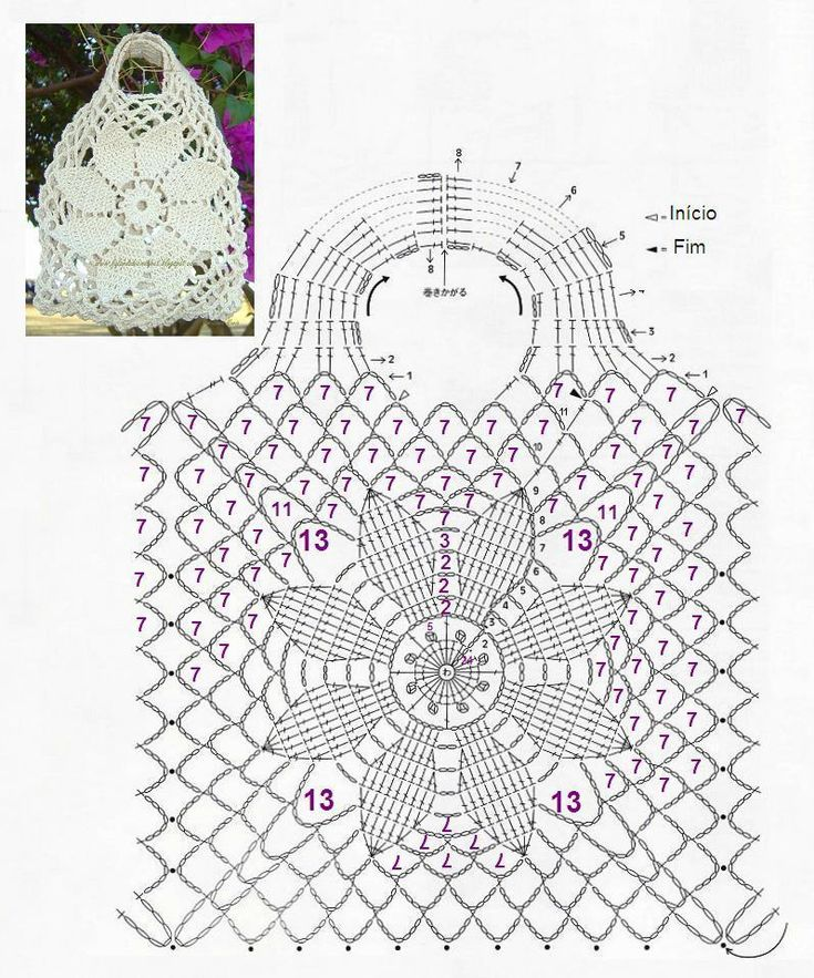 3849 best Tutorial & Gráficos images on Pinterest | Crochet stitches ...