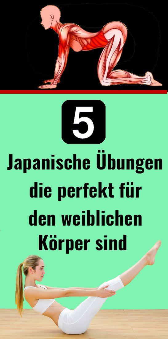 5 Japanische Übungen, die perfekt für den weiblichen Körper sind – Gisela Eltschkner