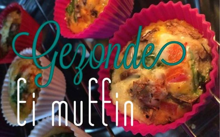 Simple Thoughts - gezonde ei muffin