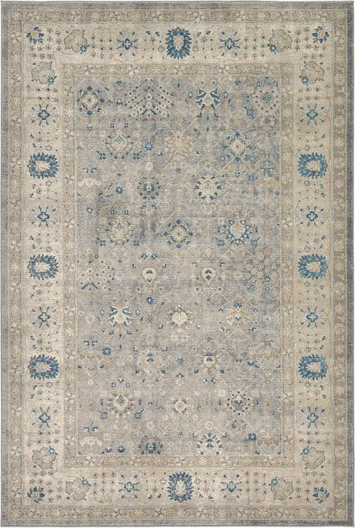 Gray Allover Sultanabad Area Rug