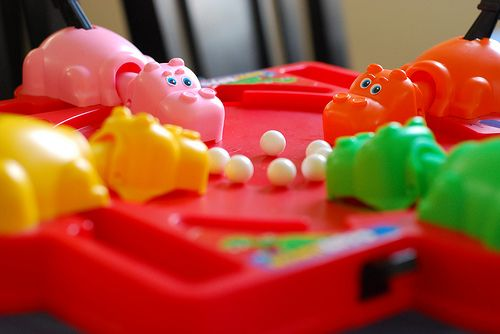 Hungry Hippos, I remember you and my Mom moaning bout the noise lol :)