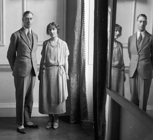 Engagement of Prince Albert, Duke of York and Lady Elizabeth Bowes Lyon, 1923