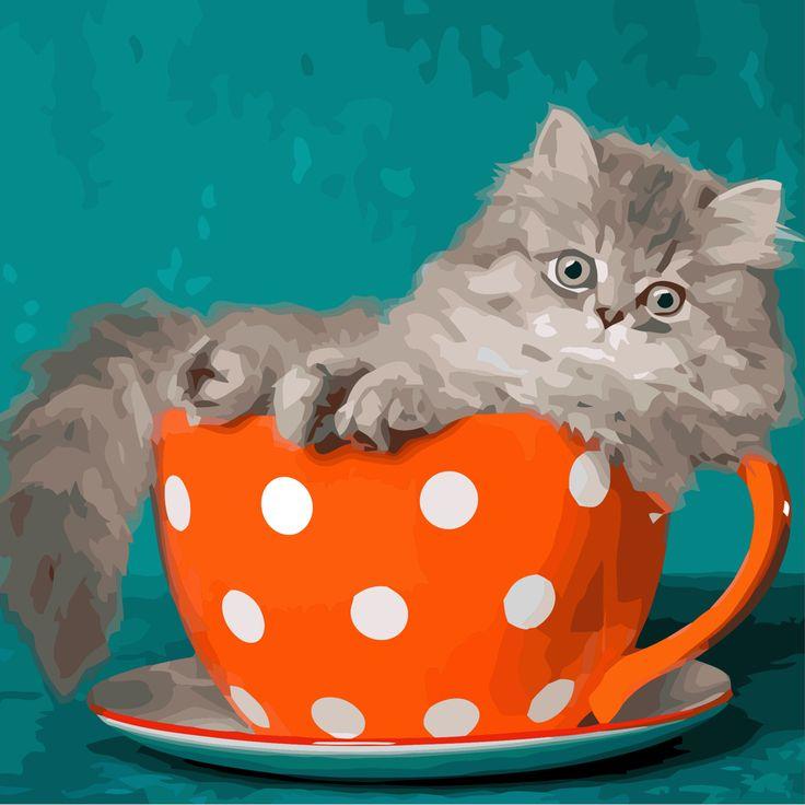 самого фото кота в кружке осенью роналду