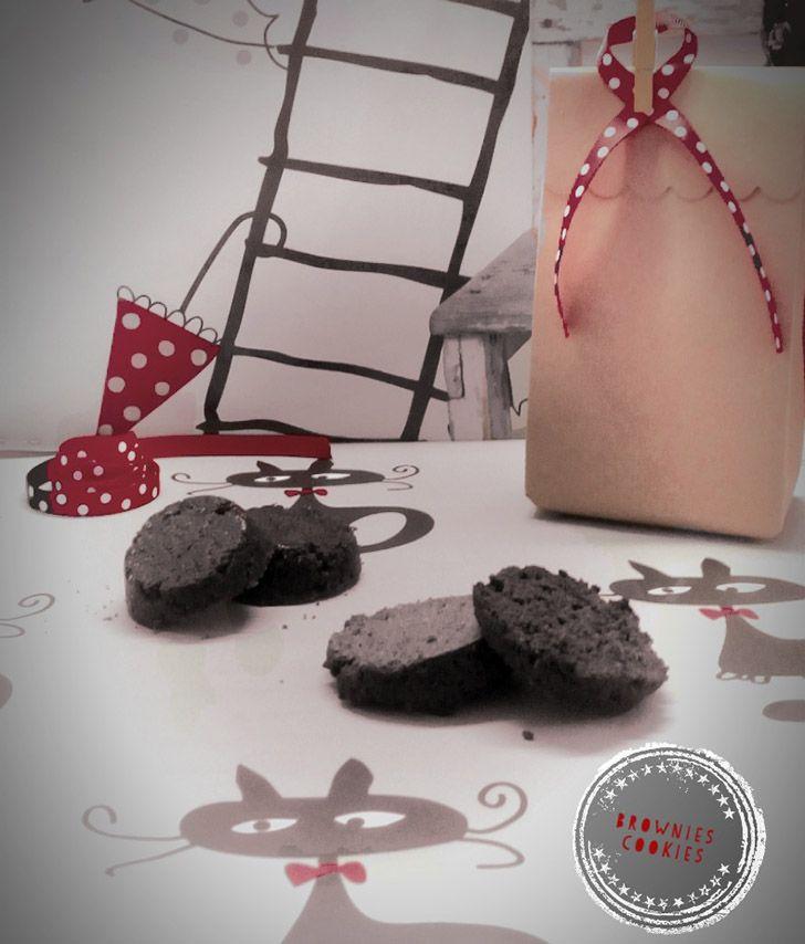Choco brownie cookies
