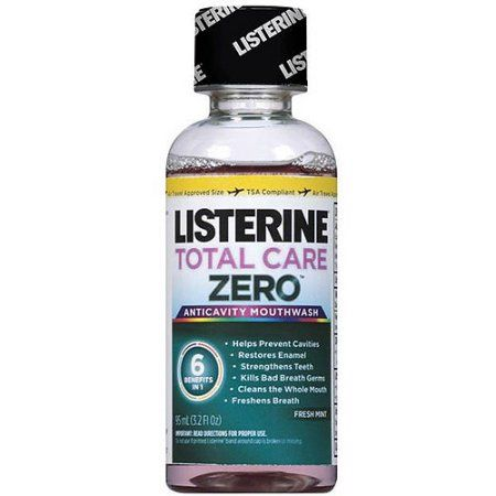Listerine Total Care Zero Mouthwash, 95ml