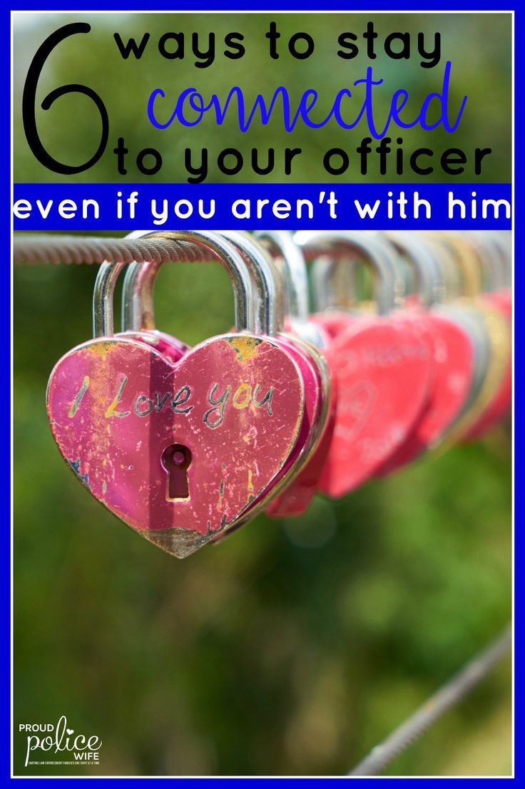 Police wife life can be difficult and law enforcement schedules make it hard to stay connected to your officer. Feel supported with these great tips! #policewife #policeofficer #thinblueline