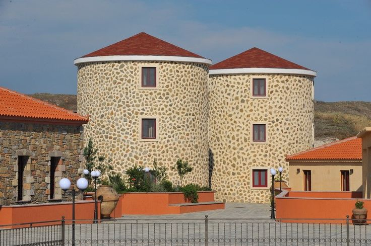 Varos Traditional Village Hotel -windmill suites- Lemnos (Limnos) Island Greece