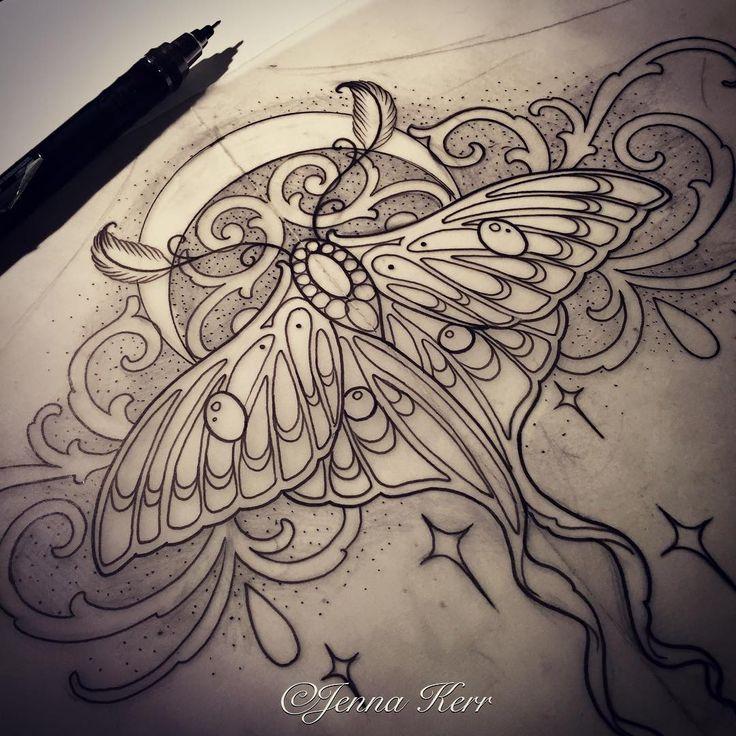 """#Lunamoth #moth #underbust""                                                                                                                                                                                 More"