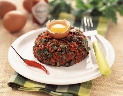 La Cocina Francesa: Steak Tartare (Filete tártaro)