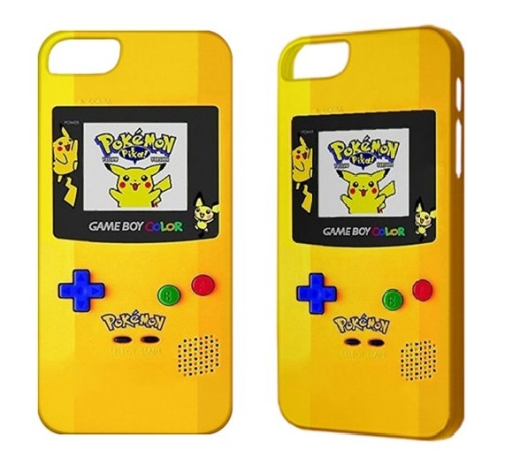 Pokemon iPhone 5 Case, iPhone 4 case, iPhone 4S case, iPhone 3G 3GS iPod Touch 5 4G Cover Phone Case, Game Boy Cute Cool Cheap iPhone Cases: my brother NEEDS this.