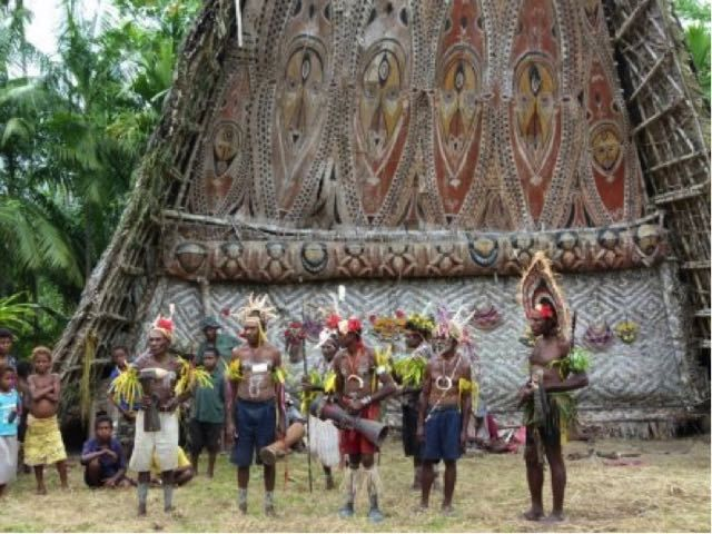The Sepik River - Spirit House, Papua New Guinea. Read the blog here: https://gudmundurfridriksson.wordpress.com/2015/07/24/secrets-of-the-sepik/
