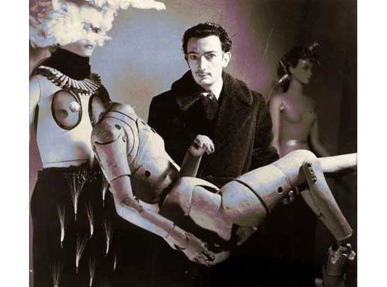 Salvador Dali, the late Catalan artist known for his iconic mustache and vaudevillian eyes as much as his mind-bending works, relished the shock and awe his antics provoked.