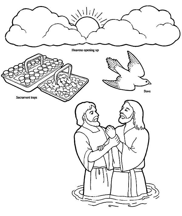 baptism coloring pages - photo#14