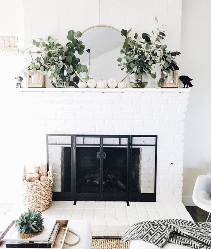 Fireplace Decorations best 25+ fireplace mirror ideas only on pinterest | fire place