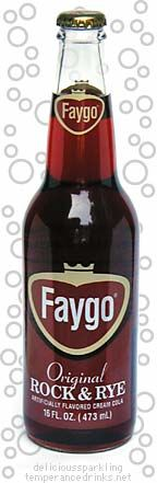 Faygo Rock & Rye. Our fave back in the day. If you are from Michigan you may remember this one.