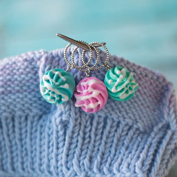 Markers for knitting, Set of 3pcs, stitch knit markers, crochet stitch markers, knitting accessories,knitting stitch markers