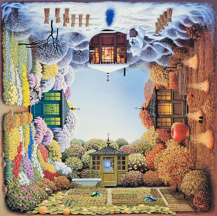Paintings by Jacek Yerka