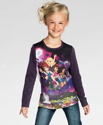 Friends genser til pike. Bestill på barnogleker.no #barneklær #nettbutikk #lego #legowear #friends