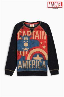 Captain America Vintage Crew (3-16yrs)