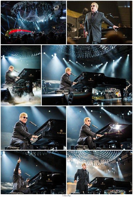 Elton John @ Freedom Hall 2016 #eltonjohn #concert #piano #legend