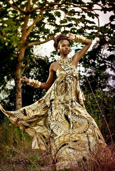 colección AFRICA. Dominicana Moda Fashion Week 2011