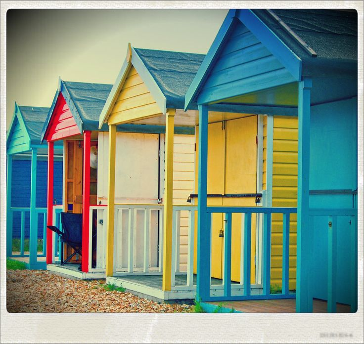 55 best images about beach huts at the english seaside on Pinterest | 1950 style, Rock n roll ...