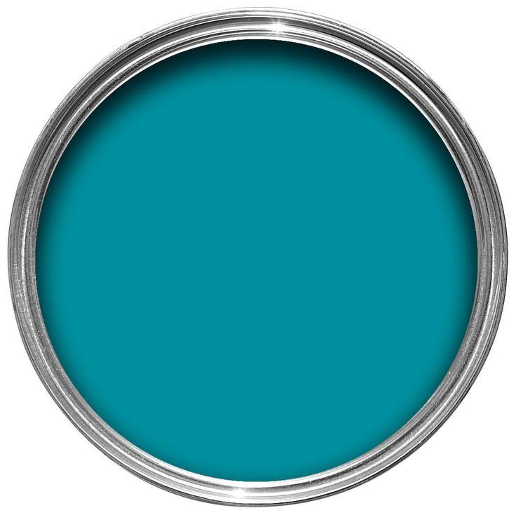 Dulux Once Teal Tension Matt Emulsion Paint 2.5L | Departments | DIY at B&Q