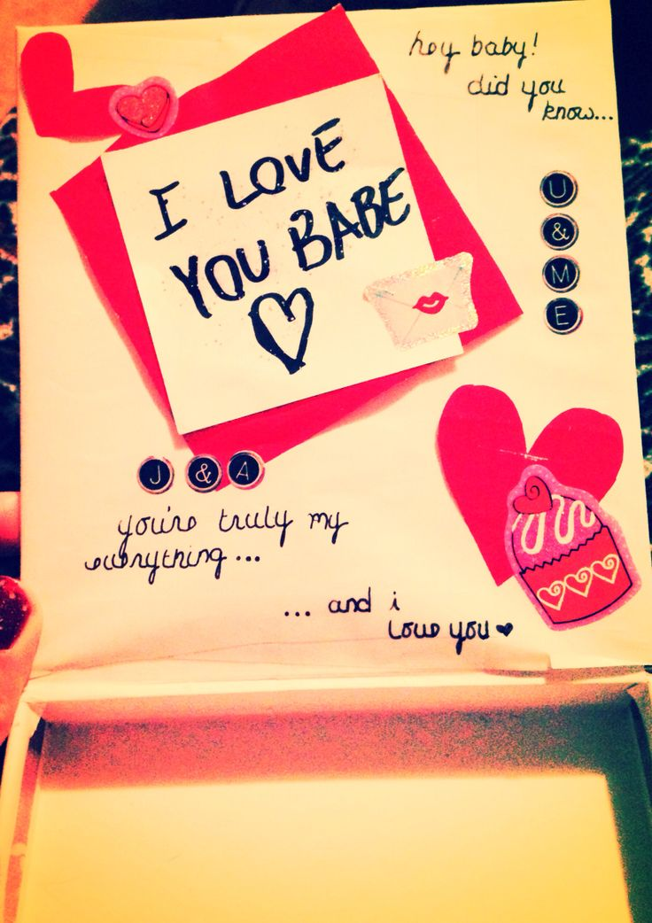valentine's day scrapbook ideas for him