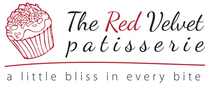 The Red Velvet Patisserie logo design