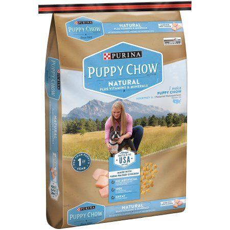 Purina Puppy Chow Natural Plus Vitamins & Minerals Dog Food 30 lb. Bag