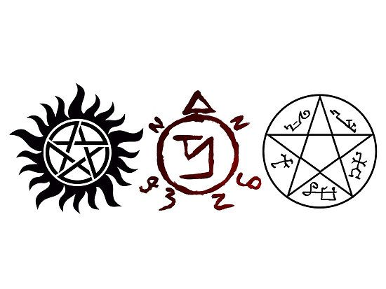 Supernatural Protection Symbols - 0425
