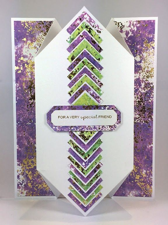 Craftwork Cards Blog: Accordion Cards - tips and tricks. Glimmer & Floral card by Neil Burley