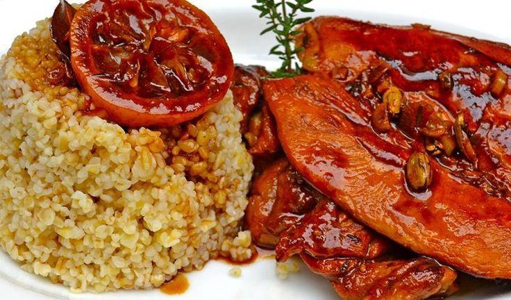 """""""Στυμφαλίδα Όρνιθα"""" - Κοτόπουλο με μέλι και θυμάρι"""