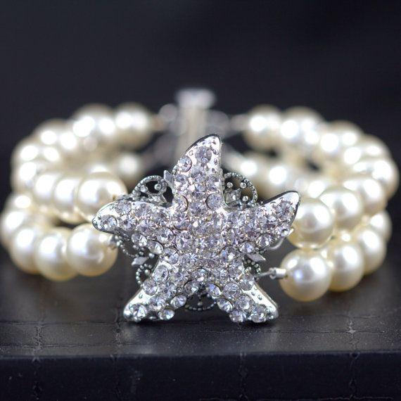 Starfish Bracelet, perfect for Beach Weddings!