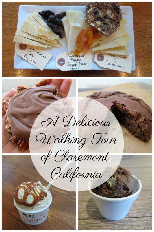 You're going to love this delicious walking tour of Claremont, California because it focuses on the most delectable treats! #desserts #Claremont #walkingtour #foodies #discoverclaremont
