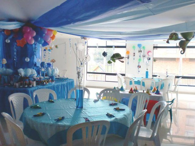 Under The Sea Party Decoration Ideas