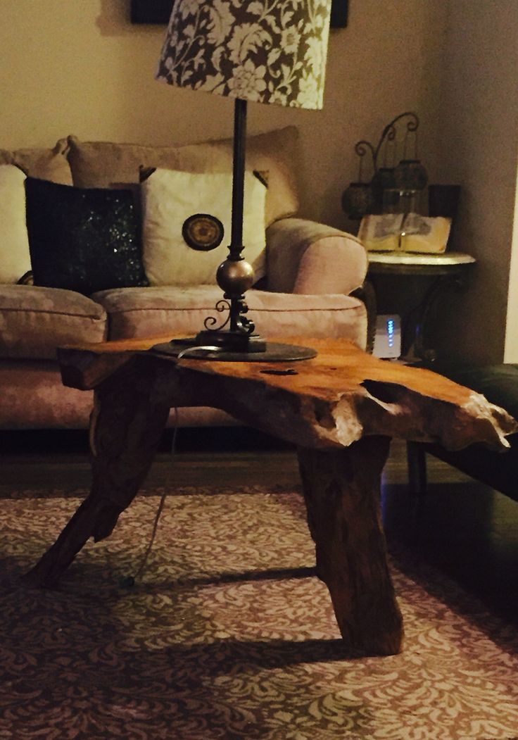 Center table made from drift  wood.