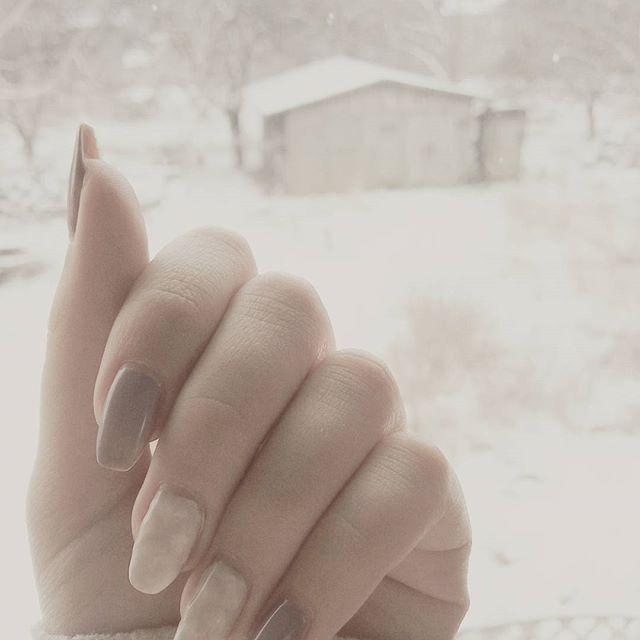 #zimowe #kolory #creativenailparty @thecieniu #paznokcie #paznokciehybrydowe #nails #winter #polishgirl