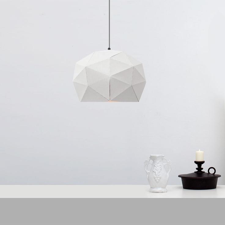 Dot/Dash White pendant lamp