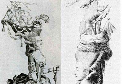 dames 18e eeuw kapsels - Google zoeken