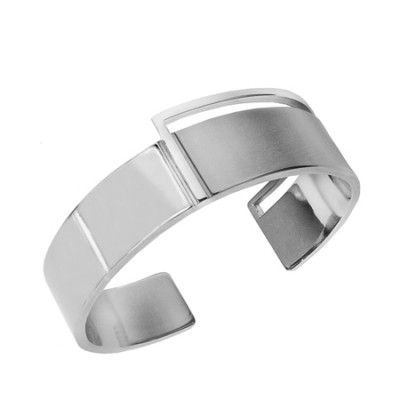 BANDHU mondrian cuff bracelet minimalistic clean jewelry