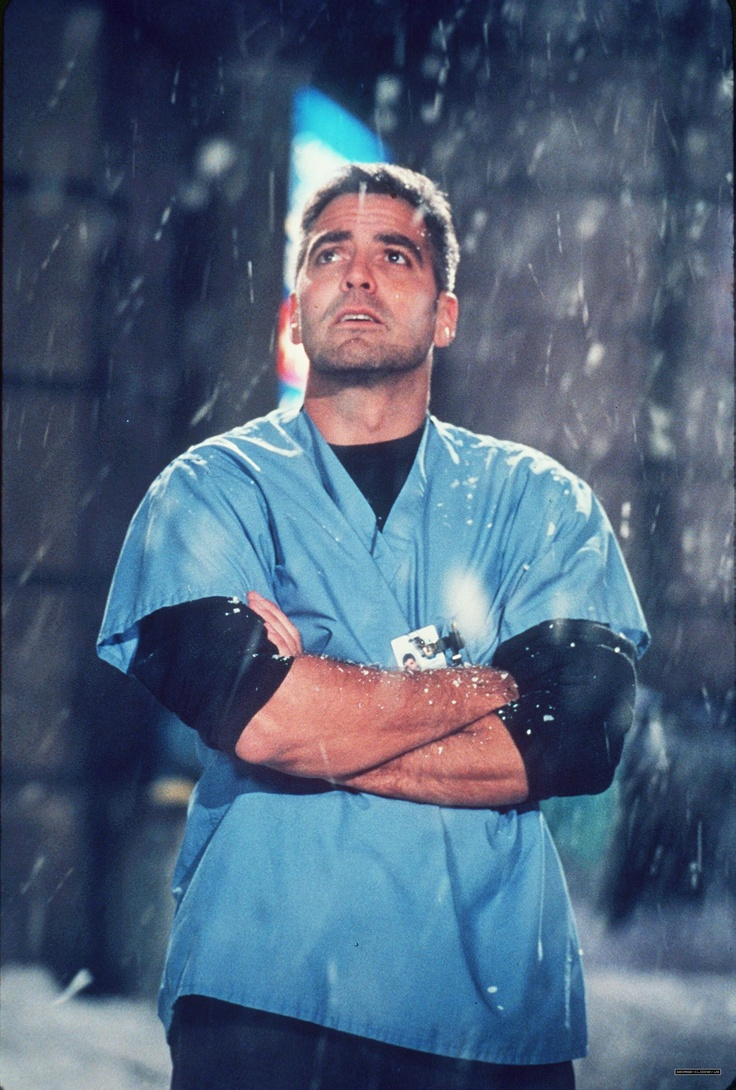 George Clooney as Dr. Doug Ross in ER | Fave TV ...