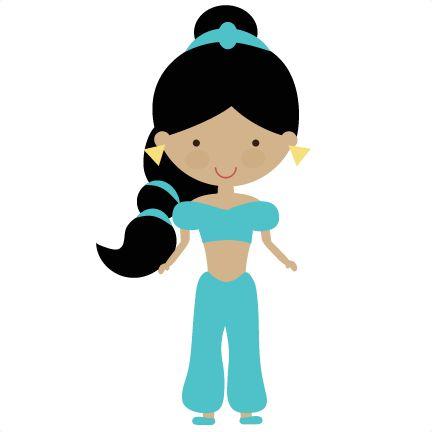Arabian Fairytale Princess - SVG Scrapbooking File