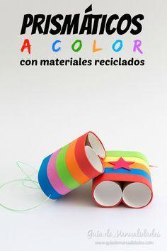 Prismáticos a color con materiales reciclados                                                                                                                                                                                 Más