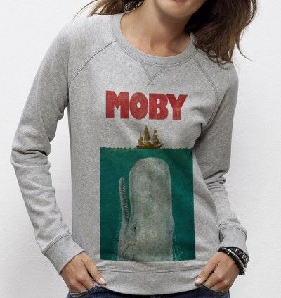 Sweatshirt Moby - Madame TSHIRT x Terry Fan  -  Dispo ici : http://www.madametshirt.com/fr/sweat-shirts/1674-sweatshirt-moby.html
