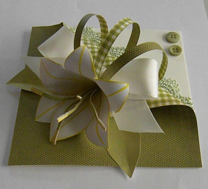 Смотреть открытки оригами, бумаги объемная