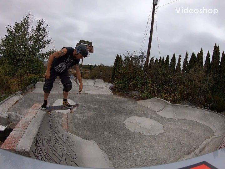Had Hillside All To My Self Yesterday Crusty Dusty And Fun Lagwagon Skateboard Skatediy Pacificnorthwest Upperleftu Pacific Northwest Fun Skateboard