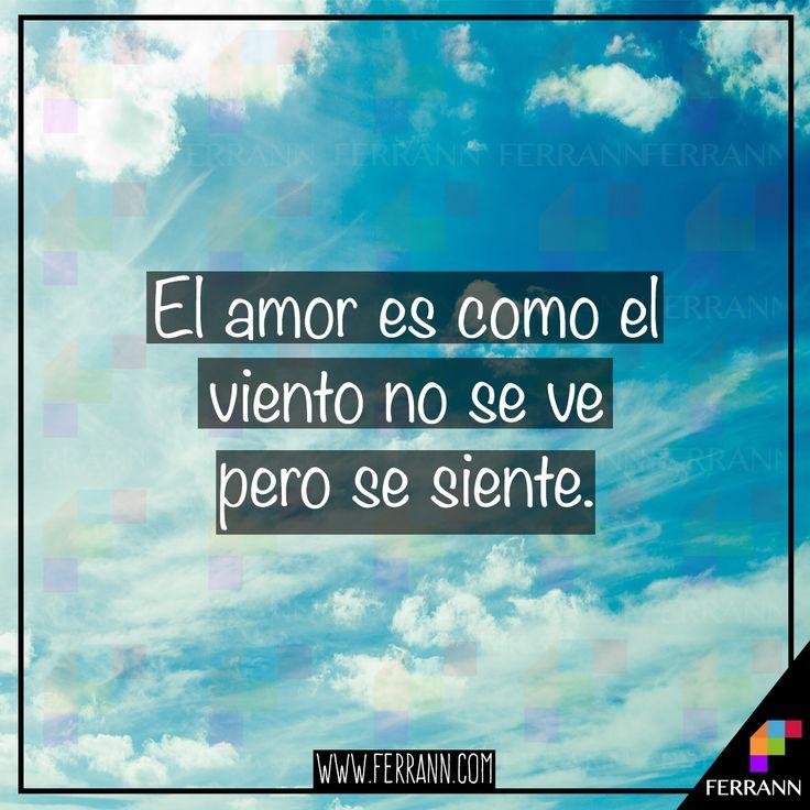 El amor es como el viento🌬